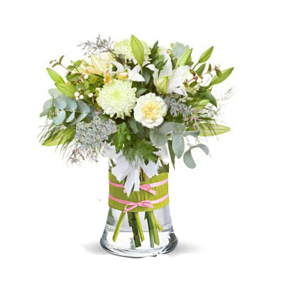 """Bouquet """"All in White"""""""